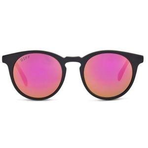 DIFF Eyewear Charlie Pink Polarized